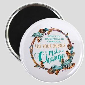 Make a Change Wreath Magnet