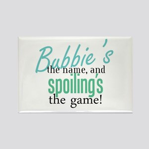 Bubbie's the Name! Rectangle Magnet