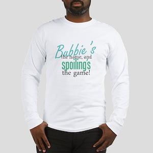 Bubbie's the Name! Long Sleeve T-Shirt