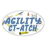 CT-ATCH Oval Sticker