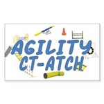 CT-ATCH Rectangle Sticker