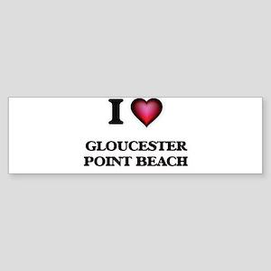 I love Gloucester Point Beach Virgi Bumper Sticker