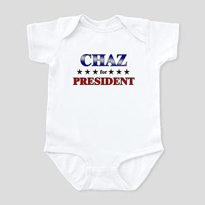 CHAZ for president Infant Bodysuit