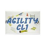 CL1 Agility Title Rectangle Magnet (100 pack)