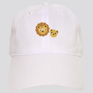 Lion Heads Baseball Cap