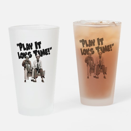 Play It Long Time! Drinking Glass
