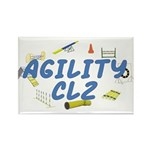 CL2 Agility Title Rectangle Magnet (10 pack)