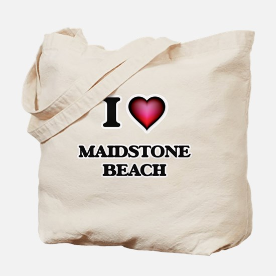 I love Maidstone Beach New York Tote Bag