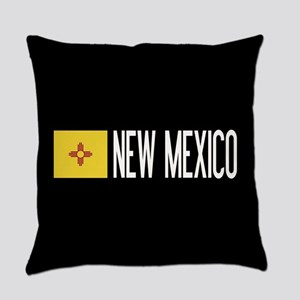 New Mexico: New Mexican Flag & New Everyday Pillow