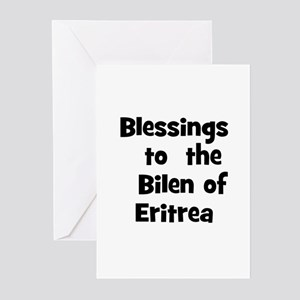 Blessings  to  the  Bilen of  Greeting Cards (Pk o