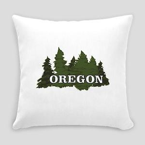oregon trees logo Everyday Pillow