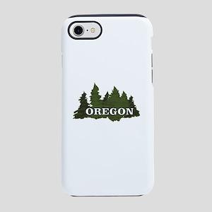 oregon trees logo iPhone 8/7 Tough Case
