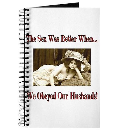 Slut wife journal