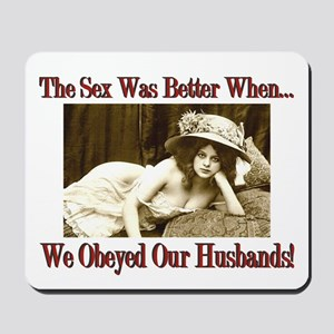 Victorian Wife Mousepad