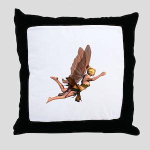 Ladyfrogs Throw Pillow