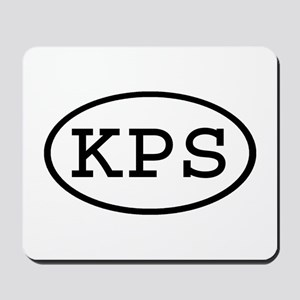KPS Oval Mousepad