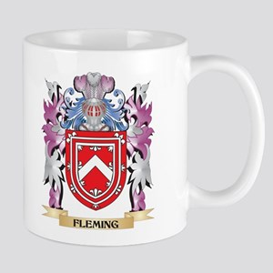 Fleming Coat of Arms (Family Crest) Mugs