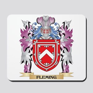 Fleming Coat of Arms (Family Crest) Mousepad