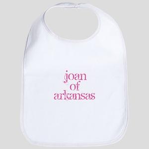 joan of arkansas Baby Bib