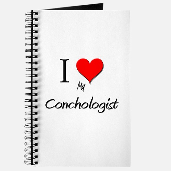 I Love My Conchologist Journal
