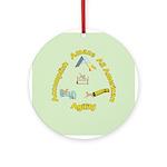 AAA Agility Ornament (Round)