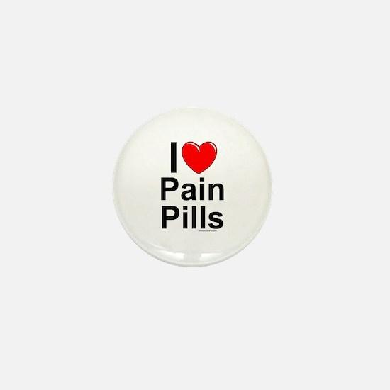 Pain Pills Mini Button