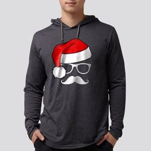 Christmas Mustach Long Sleeve T-Shirt