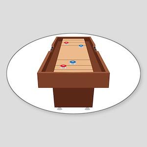 Shuffleboard Table Sticker