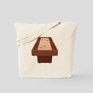 Shuffleboard Table Tote Bag