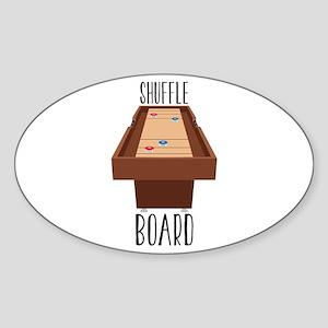 Shuffle Board Sticker