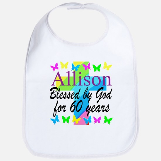 60TH PRAYER Bib
