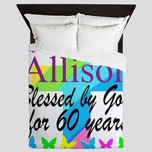 60TH PRAYER Queen Duvet