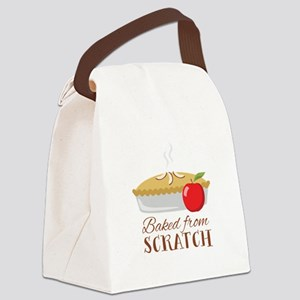 Baked From Scratch Canvas Lunch Bag