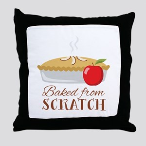 Baked From Scratch Throw Pillow
