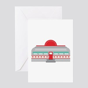 Retro Diner Greeting Cards