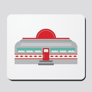 Retro Diner Mousepad