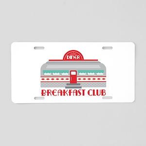 Breakfast Club Aluminum License Plate