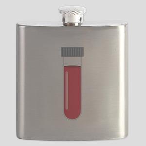 Blood Test Tube Flask
