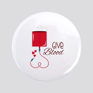 Give Blood Button
