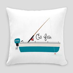 Go Fish Everyday Pillow