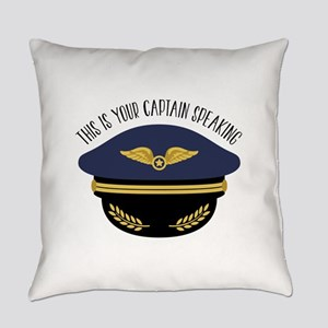 Your Captain Everyday Pillow