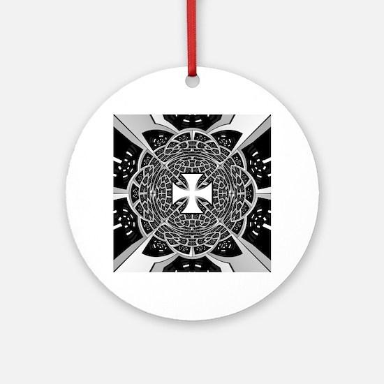 Cross pattée Round Ornament