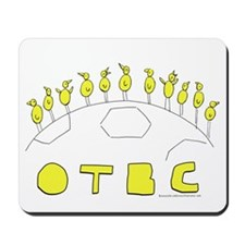 OTBC On the Ball City Canaries on a football Mouse