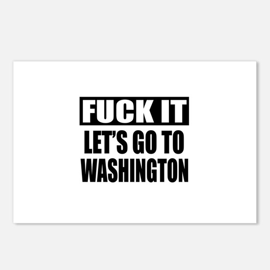 Let's Go To Washington Postcards (Package of 8)