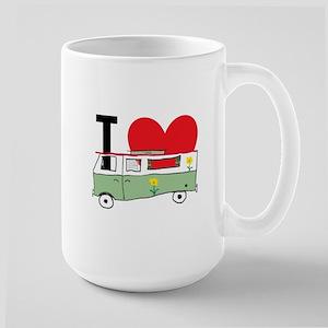 I Love My Campervan Mugs