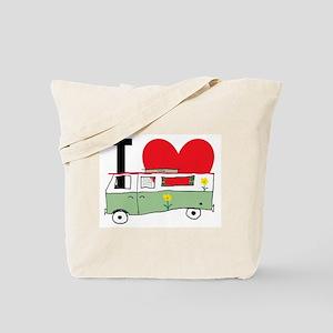 801cd04814 I Love My Campervan Tote Bag