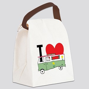 I Love My Campervan Canvas Lunch Bag