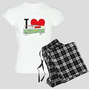 I Love My Campervan Women's Light Pajamas