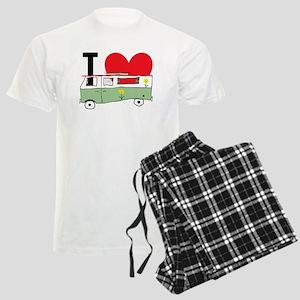 I Love My Campervan Men's Light Pajamas