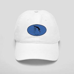 Pole Vault (euro-blue) Cap